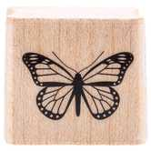 Tiny Butterfly Rubber Stamp